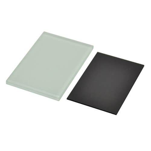 5 x 7 cm-es szögletes üveg hűtőmágnes szublimáláshoz, préseléshez
