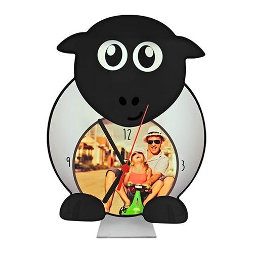 Szublimálható álló MDF óra - Bárány