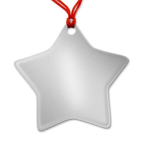 Csillag alakú medál szublimáláshoz, préseléshez