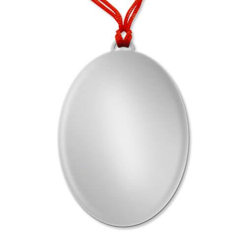 Ellipszis alakú medál szublimáláshoz, préseléshez