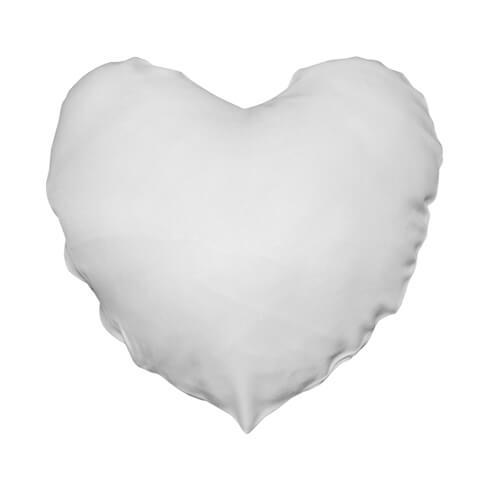 40 x 40 cm-es szív alakú Best Sub poliészter párnahuzat szublimáláshoz, préseléshez