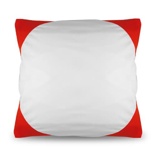 40 x 40 cm-es piros Funky párnahuzat szublimáláshoz, préseléshez