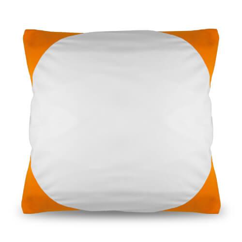 40 x 40 cm-es narancssárga Funky párnahuzat szublimáláshoz, préseléshez