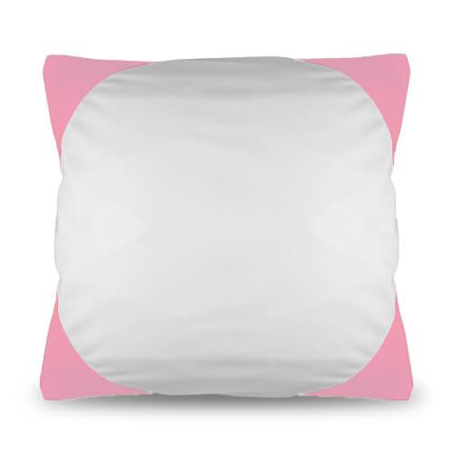 40 x 40 cm-es rózsaszín Funky párnahuzat szublimáláshoz, préseléshez