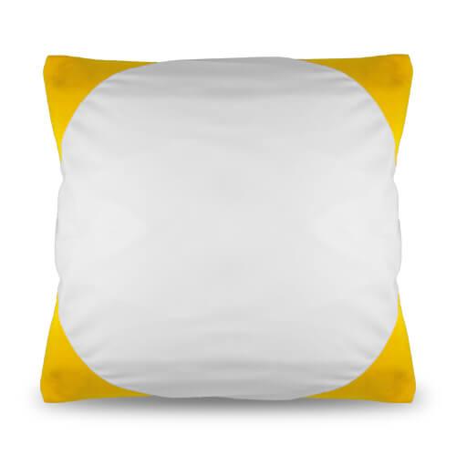 40 x 40 cm-es sárga Funky párnahuzat szublimáláshoz, préseléshez