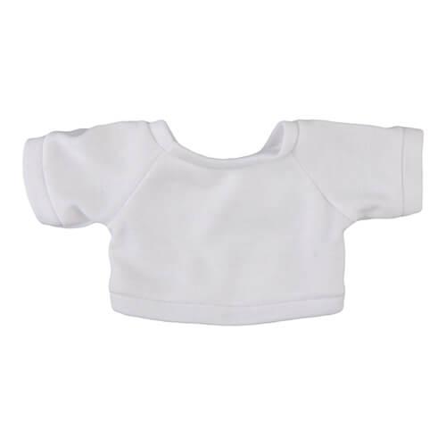 18 cm-es plüssmackóra húzható póló, szublimáláshoz, préseléshez