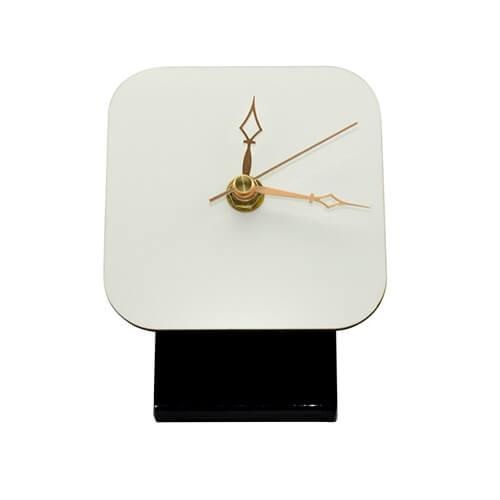 10 x 10 cm-es farostlemez álló óra, szublimáláshoz, préseléshez