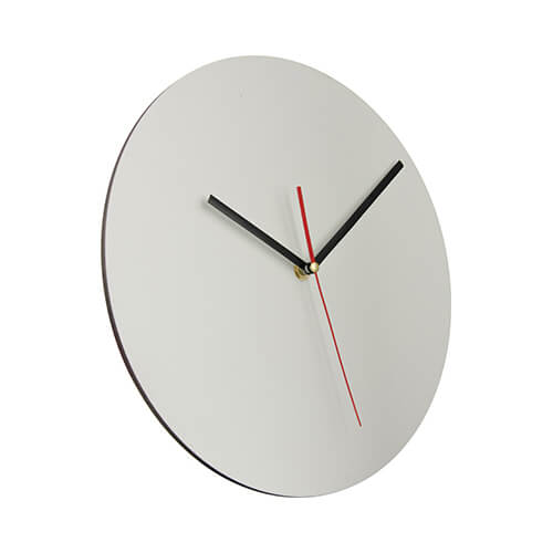 30 cm átmérőjű MDF óra, szublimáláshoz