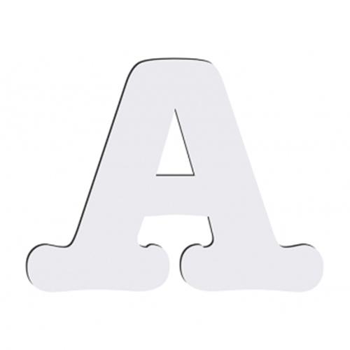 Szublimálható dekoratív MDF betű - 10 cm A