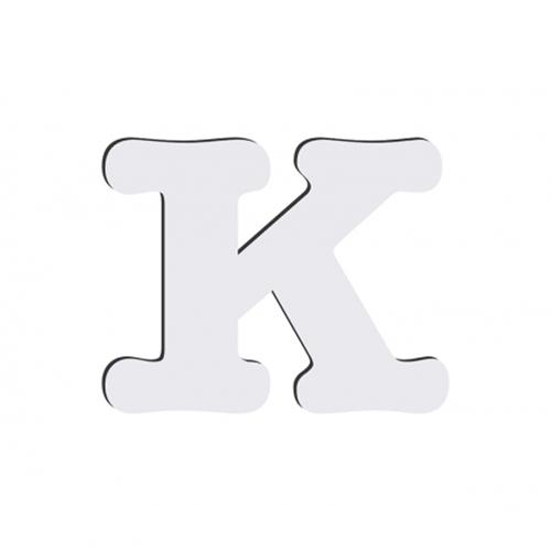 Szublimálható dekoratív MDF betű - 10 cm K