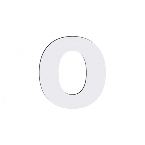 Szublimálható dekoratív MDF betű - 10 cm O