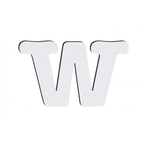 Szublimálható dekoratív MDF betű - 10 cm W