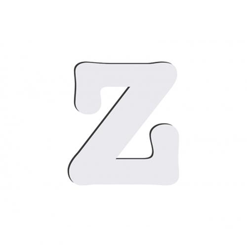 Szublimálható dekoratív MDF betű - 10 cm Z copy
