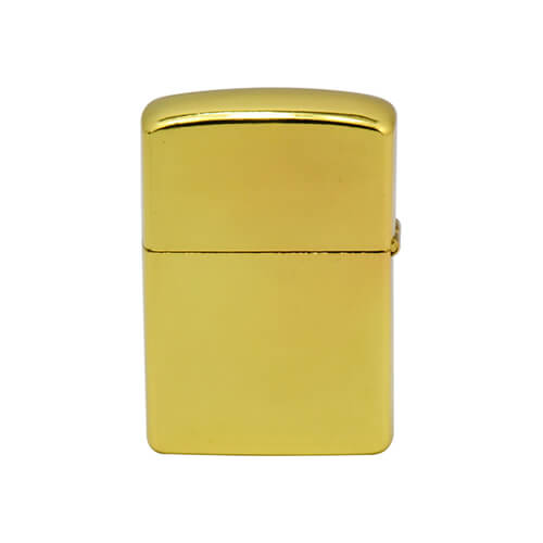 Gasoline lighter  gold Sublimation Thermal Transfer