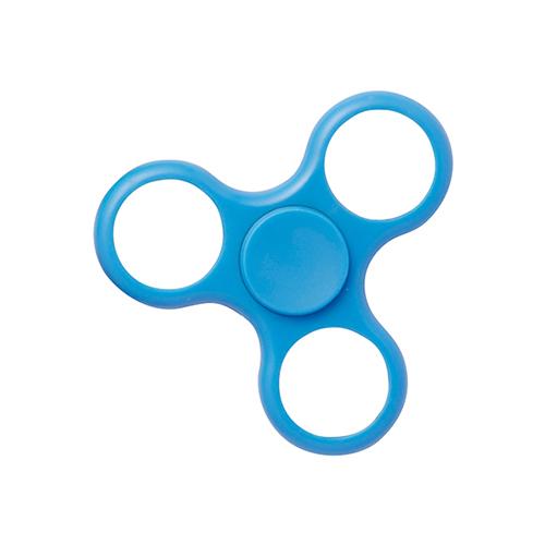 Szublimálható műanyag fidget spinner - Forgószél - kék