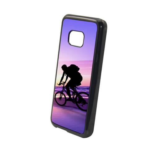 HTC M9 fekete műanyag tok szublimáláshoz, préseléshez