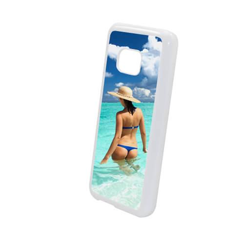 HTC M9 fehér műanyag tok szublimáláshoz, préseléshez