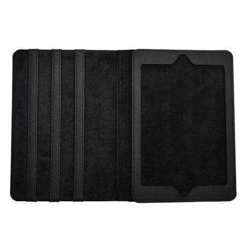 iPad Mini fekete bőrtok szublimáláshoz, préseléshez
