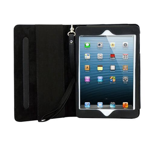 iPad Mini bőr tok pánttal, szublimáláshoz, préseléshez