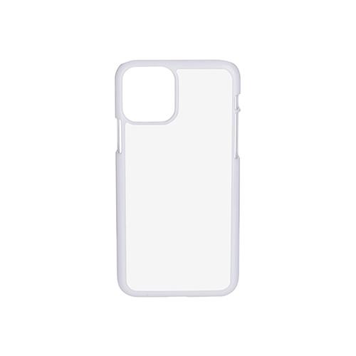 Szublimálható iPhone 11 Pro műanyag tok - fehér