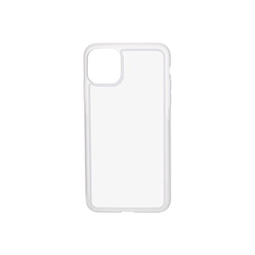 Szublimálható iPhone 11 Pro Max gumi tok - átlátszó