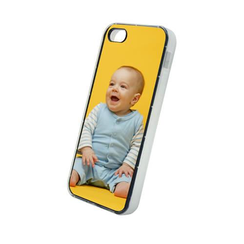 iPhone 5C fehér gumi tok szublimáláshoz, préseléshez