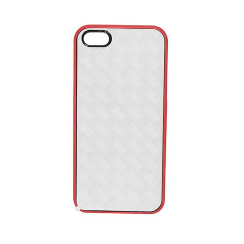 iPhone 5C piros gumi tok szublimáláshoz, préseléshez