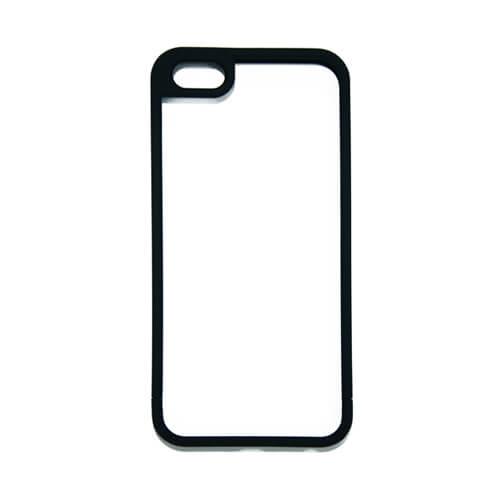 iPhone 5/5S fekete műanyag keret szublimáláshoz, préseléshez