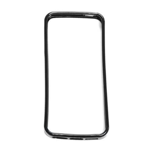 iPhone 5/5S fekete gumi keret szublimáláshoz, préseléshez