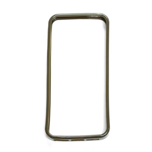 iPhone 5/5S barna gumi keret szublimáláshoz, préseléshez