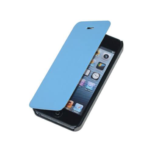 iPhone 5/5S világos kék felnyitható tok szublimáláshoz és hőpréseléshez