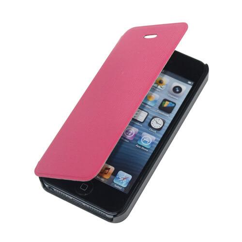 iPhone 5/5S rózsaszín felnyitható tok szublimáláshoz és hőpréseléshez