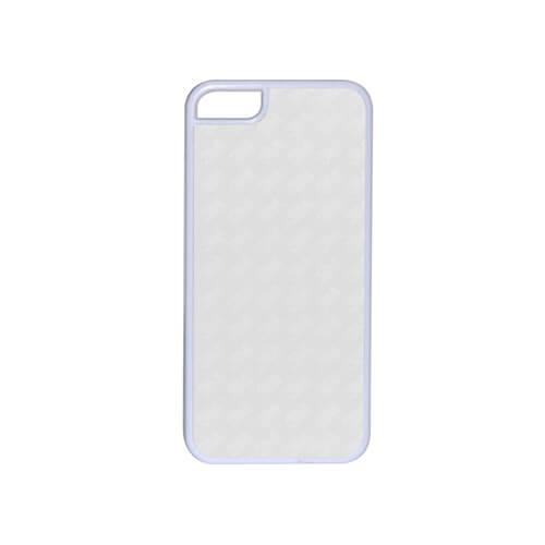 iPhone 5C fehér műanyag tok szublimáláshoz, préseléshez