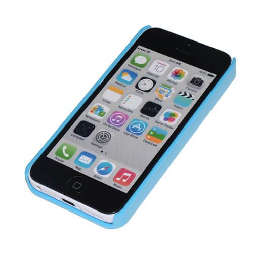 iPhone 5C világoskék műanyag tok szublimáláshoz, préseléshez