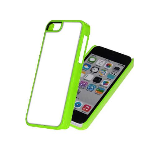 iPhone 5C zöld műanyag tok szublimáláshoz, préseléshez