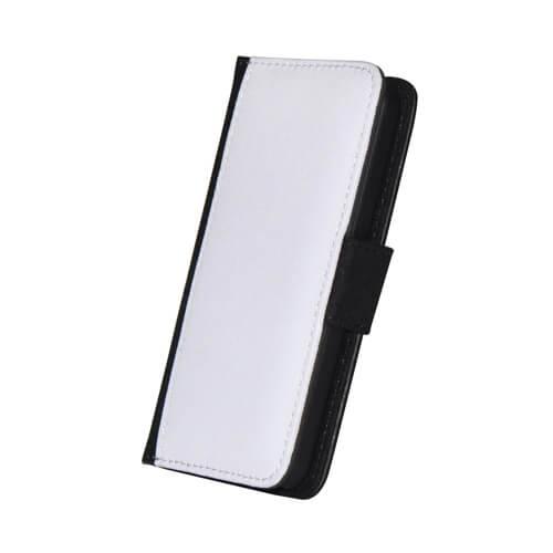 iPhone 5C fekete eco bőr tok szublimáláshoz, préseléshez