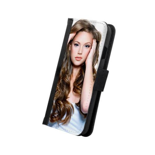 iPhone 6/6S fekete eco bőr tok szublimáláshoz, préseléshez
