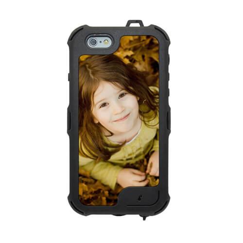 iPhone 6/6S fekete víztaszító tok szublimáláshoz, préseléshez