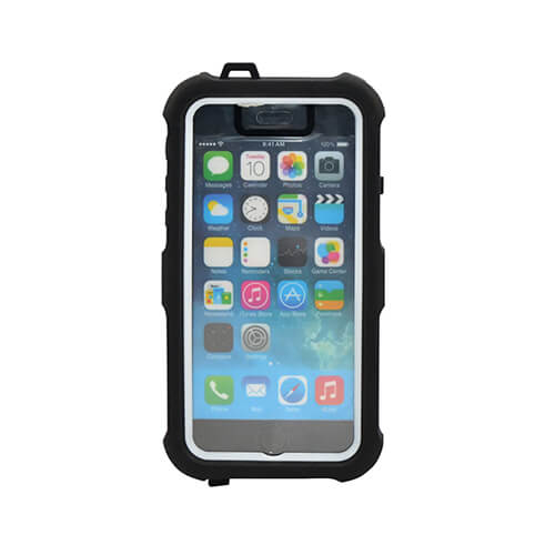 iPhone 6/6S fehér vízálló tok szublimáláshoz, préseléshez