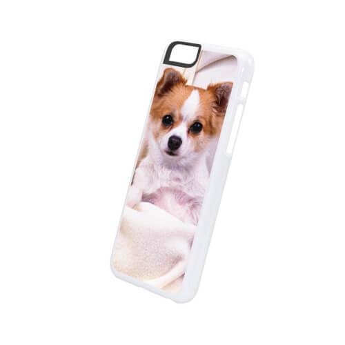 iPhone 6/6S fehér műanyag tok szublimáláshoz, préseléshez