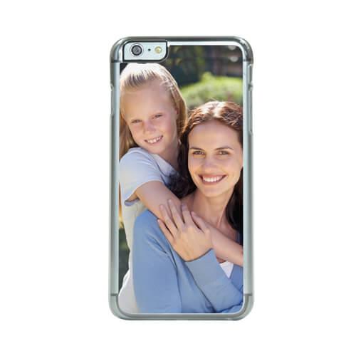 iPhone 6/6S Plus áttetsző műanyag tok szublimáláshoz, préseléshez