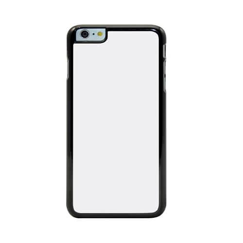 iPhone 6/6S Plus fekete műanyag tok szublimáláshoz, préseléshez