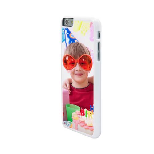iPhone 6/6S Plus fehér műanyag tok szublimáláshoz, préseléshez