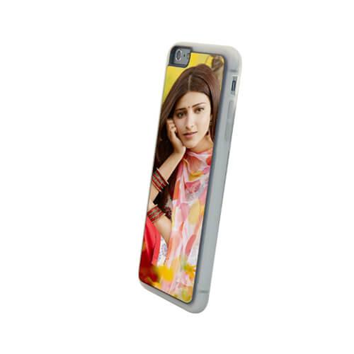 iPhone 6/6S Plus áttetsző gumi tok szublimáláshoz, préseléshez