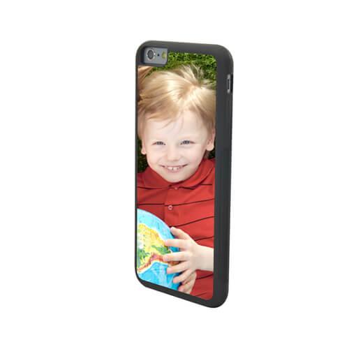 iPhone 6/6S Plus fekete gumi tok szublimáláshoz, préseléshez
