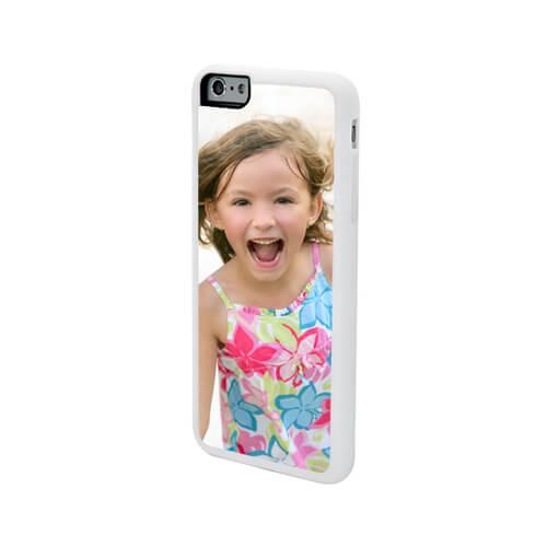 iPhone 6/6S Plus fehér gumi tok szublimáláshoz, préseléshez