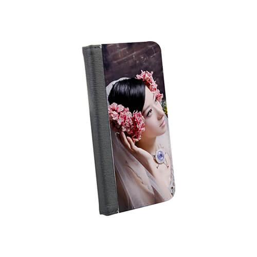 iPhone 7 / 8 fekete eco bőr tok