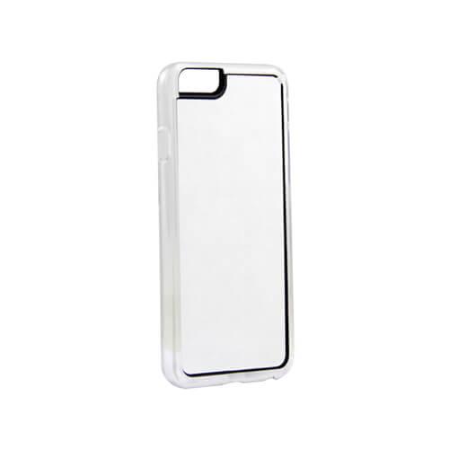 iPhone 7 / 8 áttetsző műanyag tok szublimáláshoz, préseléshez