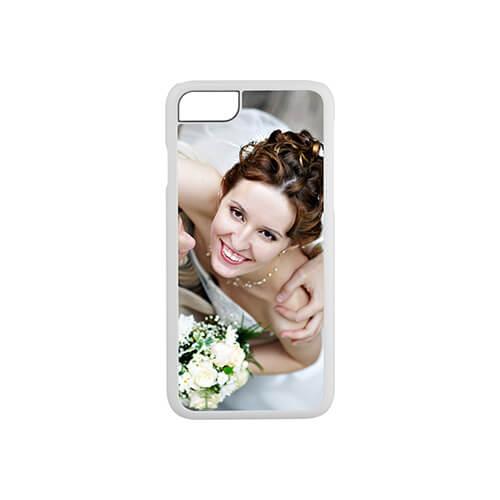 iPhone 7 / 8 fehér műanyag tok szublimáláshoz, préseléshez