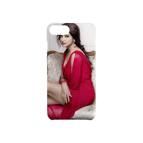 iPhone 7 / 8 Plus matt fehér 3D tok szublimáláshoz, préseléshez
